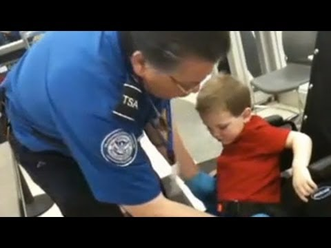 Video of TSA toddler pat-down goes viral