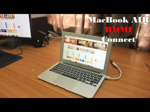 Connect MacBook Air to external Display with HDMI cable | BlueRigger |
