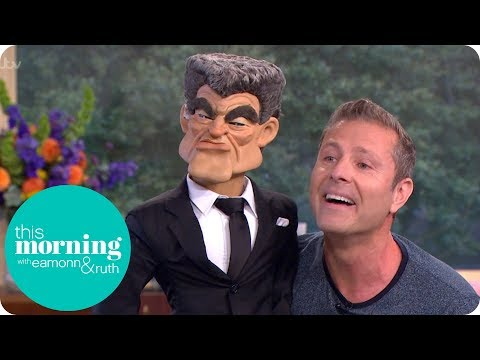 Paul Zerdin Introduces His Latest Puppet Character | This Morning