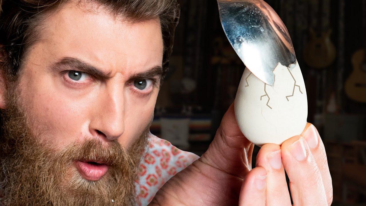 4 Weird Ways To Peel An Egg