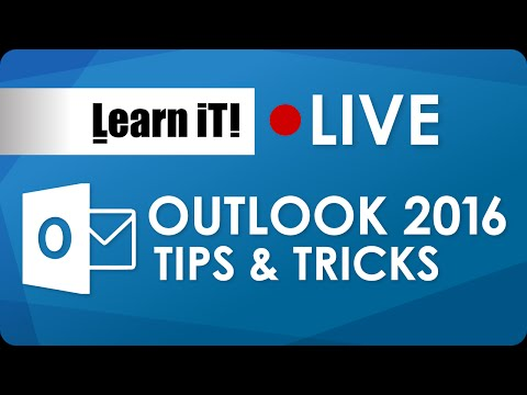 Microsoft Outlook 2016 Tips and Tricks