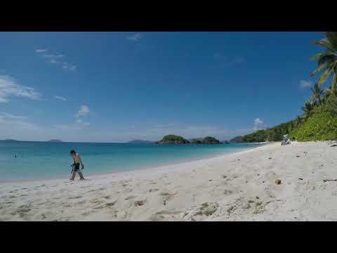 St John Trunk Bay Beach Time Relax