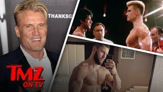 Dolph Lundgren Approves Of His Son | TMZ TV