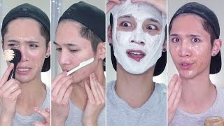 My Ultimate Pampering Routine (For Dead Skin, Pores, Facial Hair, & Acne) - Edward Avila
