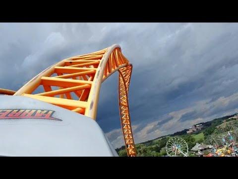 Fahrenheit Front Seat POV 2014 FULL HD Hershey Park