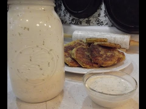 Buttermilk Ranch Dressing - The Hillbilly Kitchen