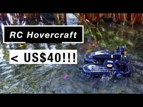 The Crazily Affordable RC Hovercraft!! (Zhilun 6653)