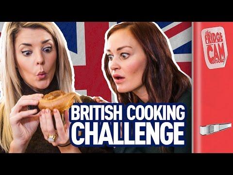 British Cooking Challenge ft. Grace Helbig & Mamrie Hart   FridgeCam