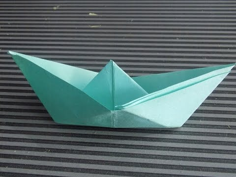 how to make paper boat step by step easy at home 2015 New (DIY)