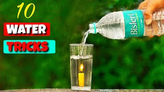 10 Amazing Water Experiments || Science Experiments With Water
