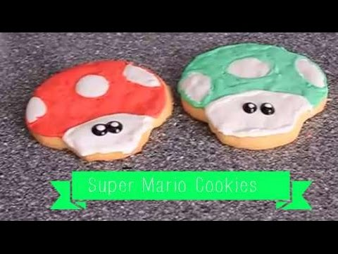 Super Mario Cookies + Amazing Cookies Recepie