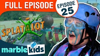 Splatalot! -  Season 2 - Episode 25 - Teachers Vs. Students Splatdown!