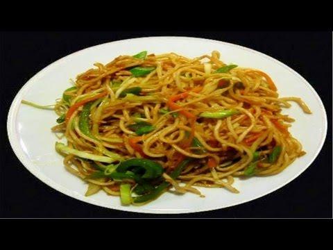 Schezwan Noodles Recipe Video- Noodles in Spicy Sauce by Bhavna