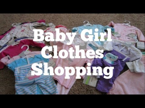 Baby Girl Clothes Shopping - IJK Family VLOG #13