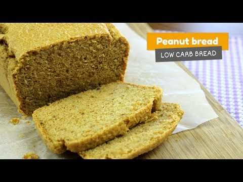 Peanut Bread | Low Carb Breads #1