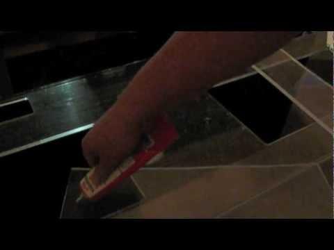 125 acrylic/ acrylic aquarium repair