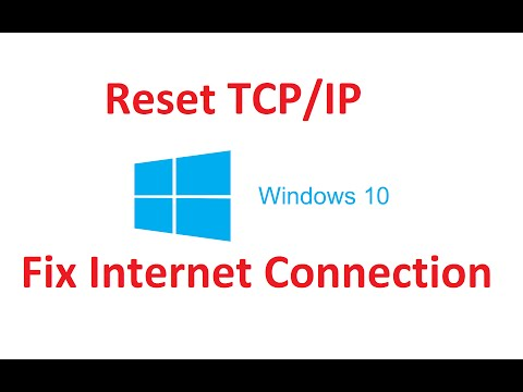 How To Reset TCP/IP Internet Connection Windows 10 / 8![Easy] - Howtosolveit