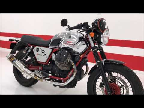 2013 Moto Guzzi V7 Racer / LOW MILES / The original Italian cafe racer - INSTANT ITALIAN CLASSIC