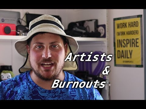 Dealing with burnout as artists and creatives