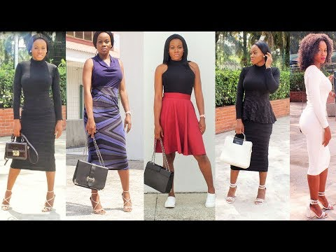 OUTFIT IDEAS|FALL FASHION LOOKBOOK & Style for women 2018|fashion show