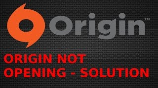 how to fix origin not loading