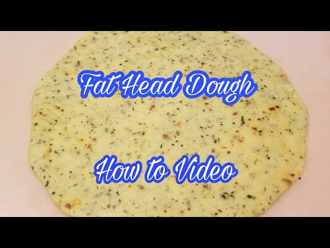 How to Make Fat Head Pizza Dough -  Instructional Video