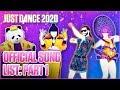Just Dance 2020: Song List - Part 1 [US]
