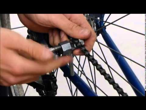 FIRST STEPS to build a fixie - Removing Chain, Derailleurs, Shifters