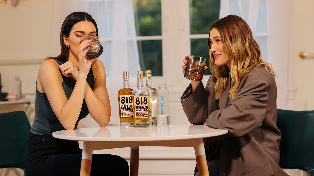 Kendall Jenner & Hailey Bieber cook mac and cheese & play Never Have I Ever | WHO'S IN MY BATHROOM?