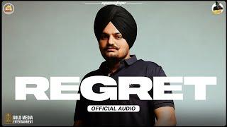 Regret (Official Audio) Sidhu Moose Wala | The Kidd | Latest Punjabi Songs 2021