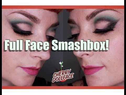 Full Face of Makeup: Smashbox Cosmetics! by CHERRY DOLLFACE