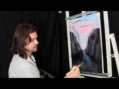 Cliffside Surroundings - Painting Lesson