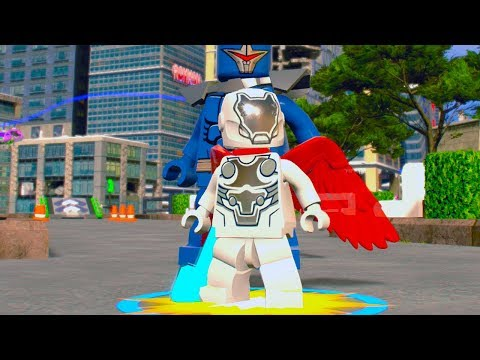 LEGO Marvel Super Heroes 2 Super Adaptoid Boss Battle Unlock Location + Free Roam Gameplay