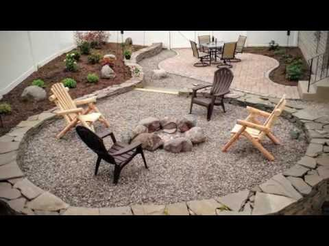 Building a Backyard Patio and Firepit