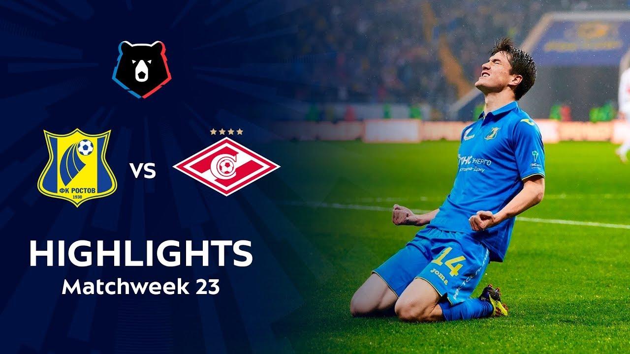 Highlights FC Rostov vs Spartak (2-1) | RPL 2018/19