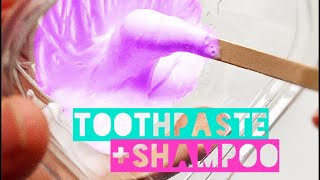 Slime shampoo videos ytube how to make slime using only toothpaste shampoo tested ccuart Images