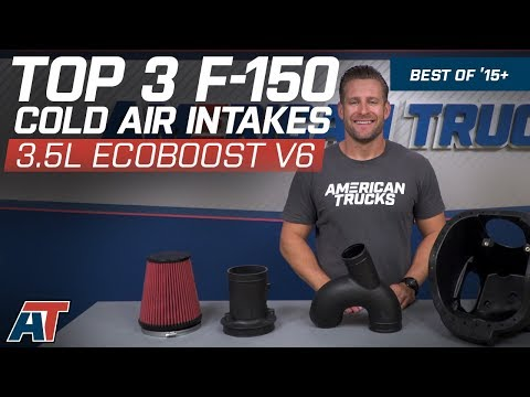 Top 3 Ford F150 Cold Air Intakes For 2015-2017 F150 3.5L EcoBoost V6