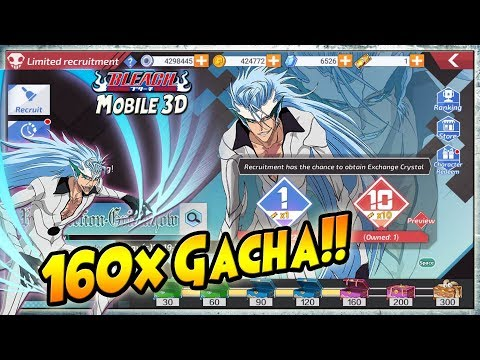 Xxx Mp4 160x GACHA 🔥 RESURRECTION GRIMMJOW V2 Review BLEACH Mobile 3D 3gp Sex