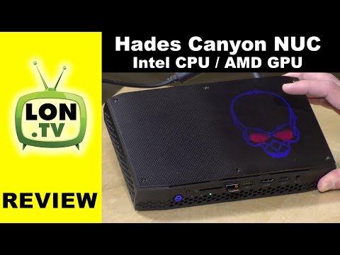 Intel Hades Canyon NUC Review : Intel CPU and AMD GPU ! Kaby Lake G $799 NUC8i7HNK