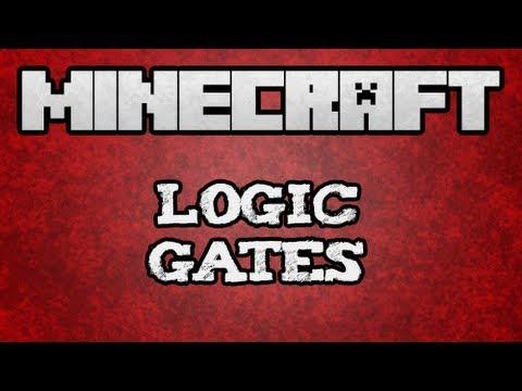 ★ Minecraft Tutorial - Basic Logic Gate Tutorial (/w Kestalkayden)