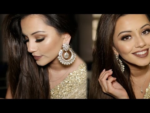 Diwali Makeup Tutorial 2015 | Golden & Bronze Party Makeup