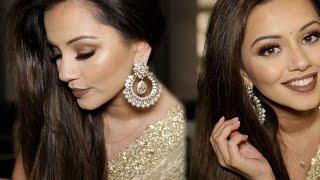 Diwali Makeup Tutorial 2015 | Golden & Bronze Party Makeup