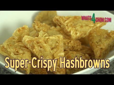 Super Crispy McDonald's Style Hash Browns - Golden Crispy Hash Browns at Home!!!