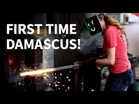 Making Damascus with Alec Steele!