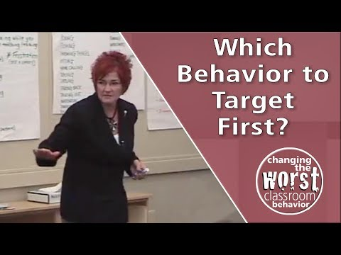 How do I choose which behavior to target first?