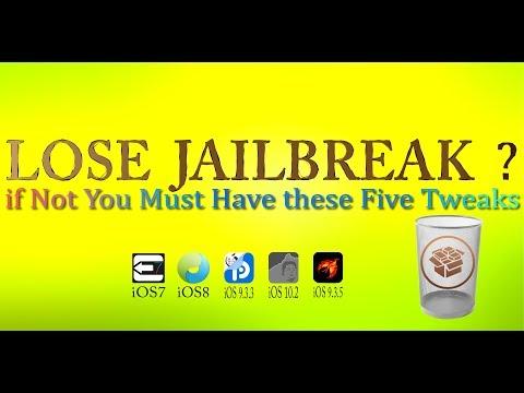 Five Tweaks n Tips Helps Keep Jailbreak For All Jailbreak Device