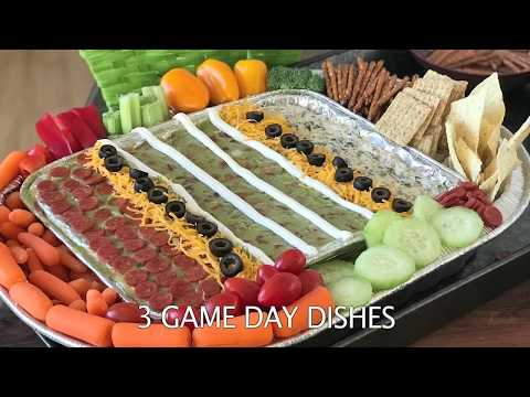 3 EASY GAME DAY RECIPES I Food I How to Cook Craft & Kids