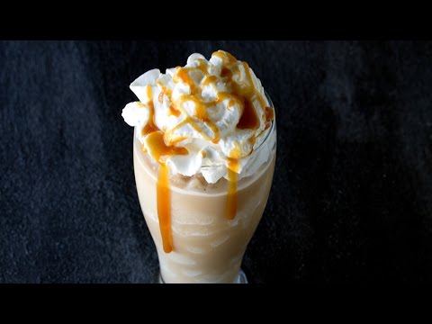 How to Make Salted Caramel Frappes
