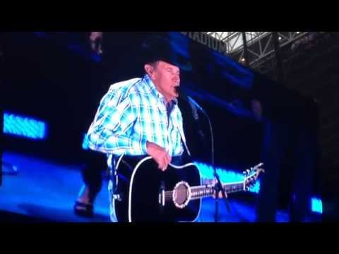 George Strait 2014 Final concert at AT&T Stadium - Lead On