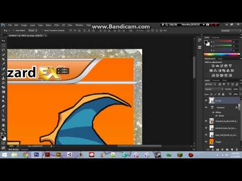 How to make a pokemon EX full art card PART 1